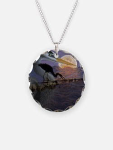 Blue_Moon_KlineSq Necklace