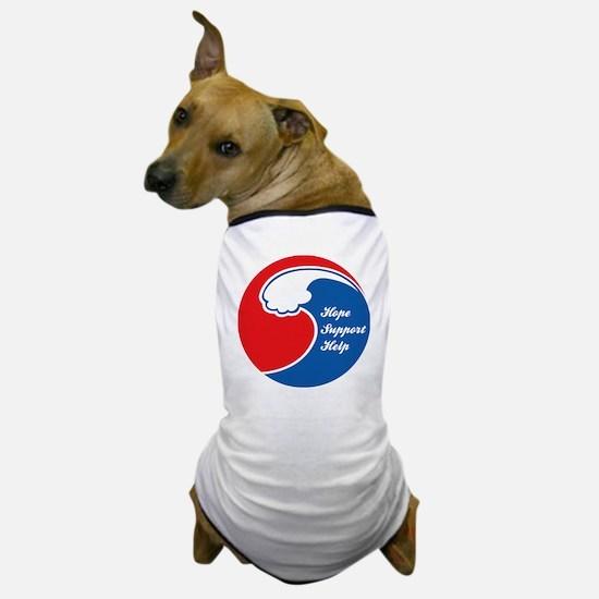 japantsunami1D Dog T-Shirt