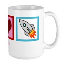 peaceloverocketswh Mug
