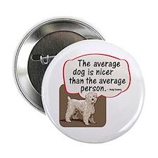 Average Dog- Button