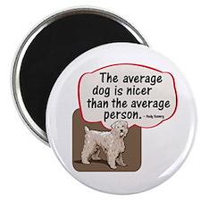 Average Dog- Magnet