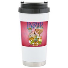 Pass Over Seder-Yardsign Travel Mug