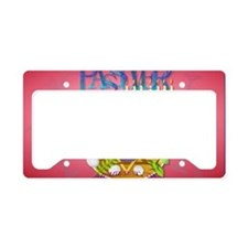 Pass Over Seder-Yardsign License Plate Holder