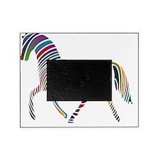 Horse Multicolor Wavey Picture Frame
