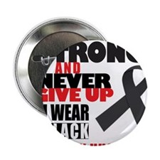 """I WEAR BLACK FOR MY HUSBAND TEE 2.25"""" Button"""