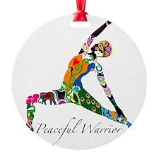 PeacefulWarriorT Ornament