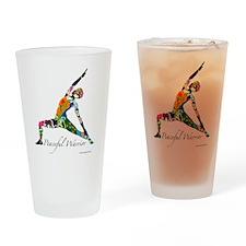 PeacefulWarriorT Drinking Glass