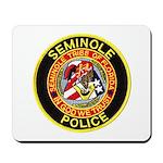 Seminole Police Mousepad