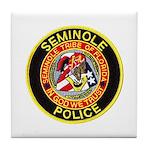 Seminole Police Tile Coaster