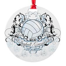 Volleyball Grandma Ornament