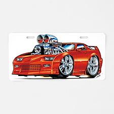 91camaroMASTER*sepstart* Aluminum License Plate