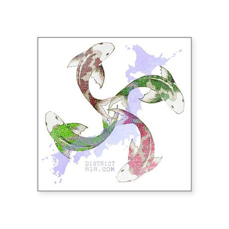 """japanrelief2011_147 Square Sticker 3"""" x 3"""""""