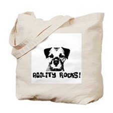 Agility Rocks! Tote Bag