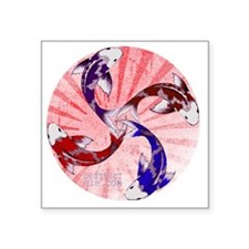 """japanrelief2011_146 Square Sticker 3"""" x 3"""""""