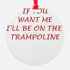 trampoline Ornament