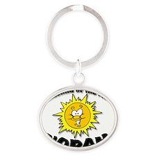 norah Oval Keychain
