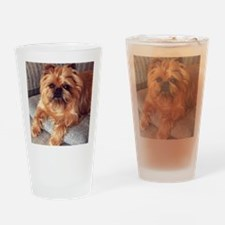 Brussels Griffon Drinking Glass