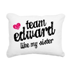 Team Ed Sis B Rectangular Canvas Pillow
