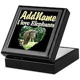 Elephant Keepsake Boxes