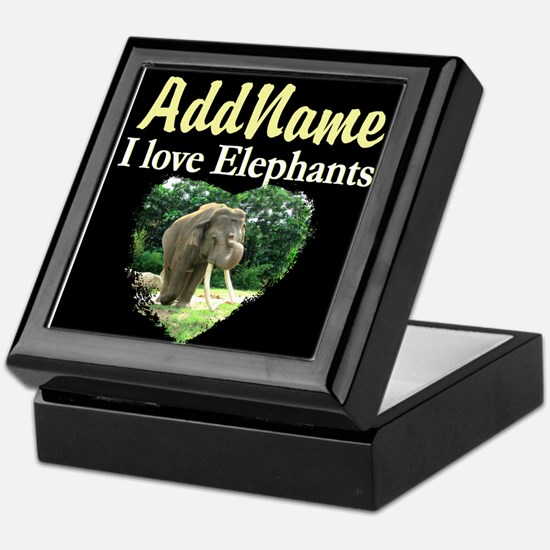 CUTE ELEPHANT Keepsake Box