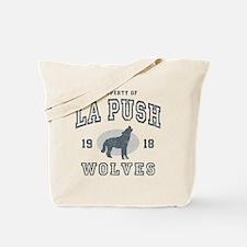 Wolves B Tote Bag