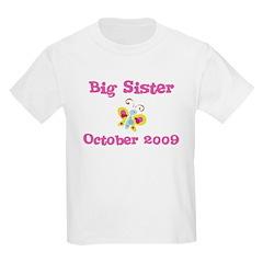 Big Sister October 2009 Kids Tee