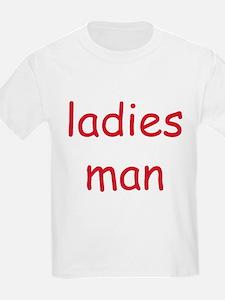 LADIES MAN Kids T-Shirt