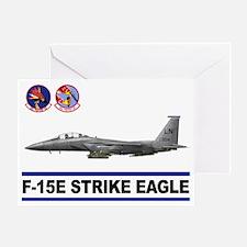 492_FS_F15_STRIKE_EAGLE Greeting Card