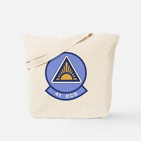 41st Electronic Combat Squadron Tote Bag