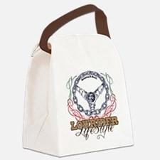 lowrider life Style Canvas Lunch Bag