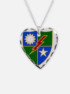 75th Ranger Regiment 2 Necklace