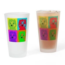 mikayla_popart3 Drinking Glass