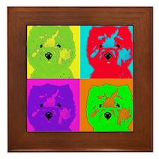 mikayla_popart3 Framed Tile