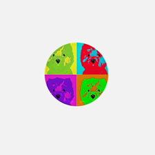 mikayla_popart3 Mini Button