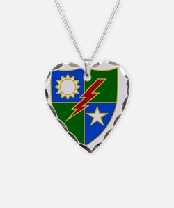 75th Ranger Regiment 2 Necklace