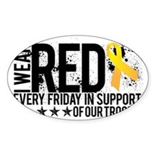 Red4OurTroops Decal