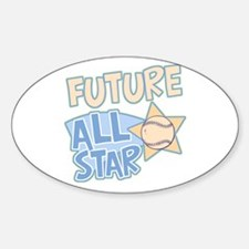 Future All Star Oval Decal