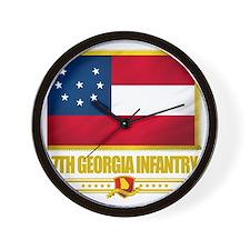 7th Georgia Infantry (Flag 10) Wall Clock