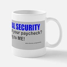 social security Mug