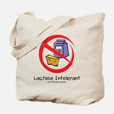 lactose-intolerant Tote Bag