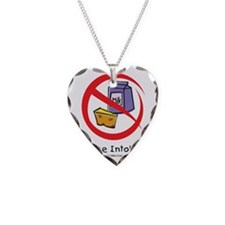 lactose-intolerant Necklace Heart Charm