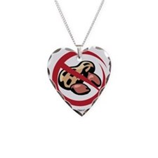 peanut-allergy Necklace Heart Charm