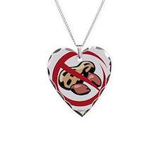 peanut-allergy Necklace Heart Charm
