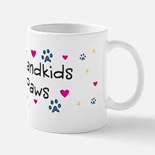 grandkids-have-paws-w10x3 Small Small Mug