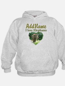 LOVE ELEPHANTS Hoodie