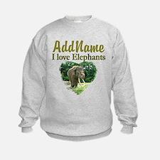 LOVE ELEPHANTS Sweatshirt