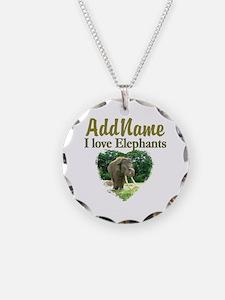 LOVE ELEPHANTS Necklace