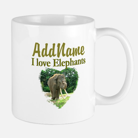 LOVE ELEPHANTS Mug