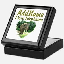 LOVE ELEPHANTS Keepsake Box