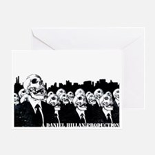 Zombie Masses Greeting Card